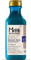 Maui Moisture Nourish - Moisture + Coconut Milk Conditioner 13 oz (Pack of 2)