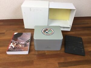 Omega Apollo 15 Watch Box Set + Operating Instructions +Card Holder + Free Post