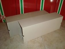 LGB 4072 SERIES REEFER CAR SIDE OPENING OUTER CARDBOARD BOX SLEEVES 2 PIECES LN!