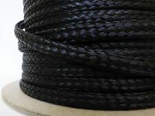 "1/2"" x 450 ft. spool of Hollow Braid Polypropylene Rope.Black. Made in Usa."