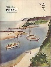 The Rudder September 1946  North Carolina Cruise 032417nonDBE