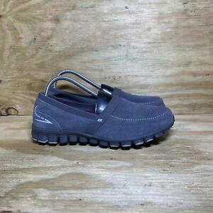 Skechers EZ Flex Memory Foam Slip-On Shoes (22663), Women size 10, Charcoal Gray