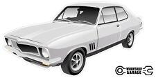 New! Collectable Holden LJ Torana GTR XU-1 2Door - Silver