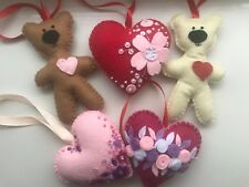Handmade Felt Valentines Day Easter Home Decoration Decorations