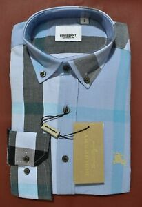 Brand New With Tags Men's BURBERRY Long Sleeve Shirt