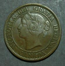 1858 Canada Large 1 Cent