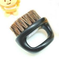 Men Natural Boar Bristle Beard Brush Moustache Handle Beard Brush Cleaning #P6A
