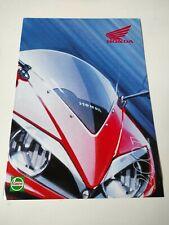 Prospectus Catalogue Brochure Honda Gamme 2001 Turquie