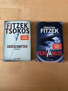 Taschenbücher / Thriller von Sebastian Fitzek / Flugangst 7a & Abgeschnitten