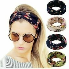 TIKA Elastic Headbands for Women - 4 pack