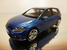 HERPA VW VOLKSWAGEN GOLF VII - BLUE METALLIC 1:43 - EXCELLENT CONDITION - 34