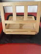Art Easle With Black Travel Case. Drawer For Supplies Reclines 4 Levels