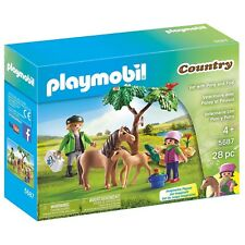 Playmobil Country Vet With Pony And Foal Building Set 5687 NEW Toys Kids