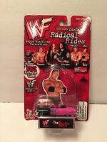 1998 The Rock WWF Radical Rides 1/64 Collectors Diecast Car