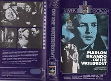 ON THE WATERFRONT - VHS - PAL - NEW - Never played! - Original Oz release