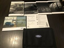2018 Ford Escape Owners Manual