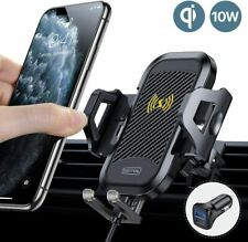Multi-function Fast Charging 360 Rotation Wireless Motorcycle Phone Mount