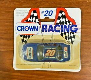1990 ROB MOROSO #20 Crown Racing 1:64 Scale Diecast Car Promo