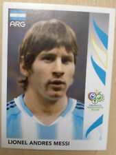 2006 Panini World Cup Germany #185 LIONEL MESSI Soccer Sticker Rookie RC