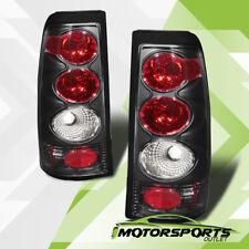 1999-2002 Chevy Silverado/1999-2006 GMC Sierra 1500/2500/3500 Black Tail Lights