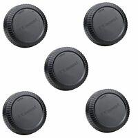 5pcs Rear Lens Cap Cover for Fujifilm Fuji FX X mount camera  XT1 XE1 XPro-1 XA1