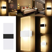 Modern LED Wall Light Up Down Cube Outdoor Sconce Lighting Lamp Fixture Waterpro