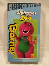 Barney - Barney's Alphabet Zoo VHS 2000 Classic Collection Vintage Used