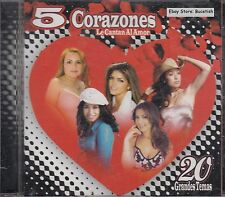 Ana Barbara Dinora 5 Corazones Le Cantan Al Amor 20 Grandes Temas CD New