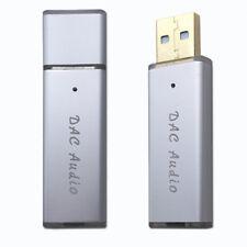 USB HiFi Sound Card OTG DAC Decoder Amplifier SA9023A ES9018K2M Fever AN