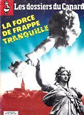 LES DOSSIERS DU CANARD ENCHAINE N° 12. septembre 1984. édition originale .