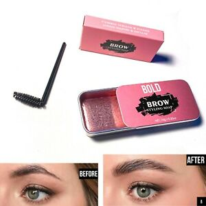 Eyebrow Styling Wax Gel Makeup Brow Styling Soap Shaping Brush Brows Waterproof
