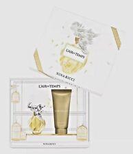 Nina Ricci L'AirDuTemps Edt  30ml &100 ml body lotion Gift Set  Ladies Perfume
