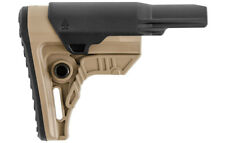 UTG PRO RBUS4DMS Made in USA Ops Ready S4 Mil-spec Rifle Butt Stock FDE