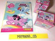 10 Sacchetti PANINI My Little Pony-Scuola dell/'amicizia Sticker Album vuoto