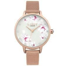 Lipsy Floral Rose Gold Plated Ladies Watch LP577