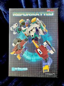 Transformers Mastermind Creations Collisus R33 MMC Reformatted IDW Thunderclash