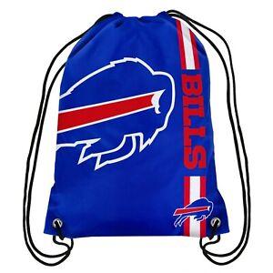 Buffalo Bills Back Pack/Sack Drawstring Bag/Tote NEW Backpack Side Stripe