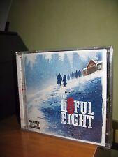 THE HATEFUL EIGHT OST CD NUOVO SIGILLATO ENNIO MORRICONE TARANTINO