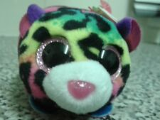 ORIGINAL TY TEENY BEANIE BABY 'JELLY' LEOPARD. HAS EAR TAG AND SEWN IN LABEL