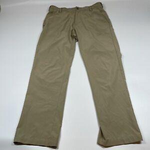 Adidas Golf Clima Cool Khaki Mens Polyester Pants Size 32x30