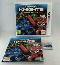 Tenkai Knights: Brave Battle Video Game for Nintendo 3DS TESTED