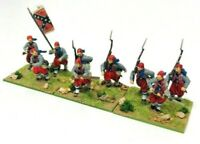 Perry Miniatures ACW Zouaves 28mm Infantry Models Unit Bundle Painted & Based