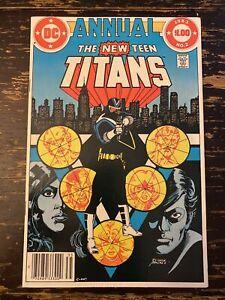 New Teen Titans Annual #2 1st App. Vigilante (DC) Free Combine Shipping