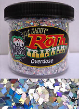 Lil Daddy Roth Metal Flake Overdose Trippin Prismatic 2oz Jar Hot Rod Custom