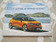 2018 Renault SCENIC & GRAND SCENIC Brochure Prospekt Catalogue DEUTSCH 52 p GER
