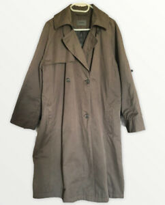 OSKA Trench Mac Coat  Brown Size: 3 Uk 14 Uk 16 Great Condition Loose Fit