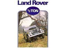 LAND ROVER SERIES-III '88' LIGHTWEIGHT RETRO POSTER BROCHURE CLASSIC ADVERT A3