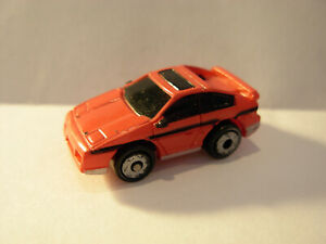 VINTAGE MICRO MACHINES PONTIAC FIERO GT IN RED