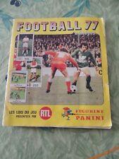 ALBUM PANINI FOOTBALL 77 COMPLET