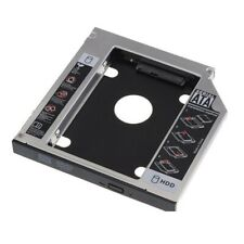 "2.5"" Universal 12.7mm SATA CD/DVD-ROM Optical Bay 2nd HDD Hard Drive Caddy Tray"